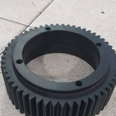 Pom Black Geer Machining Procesing